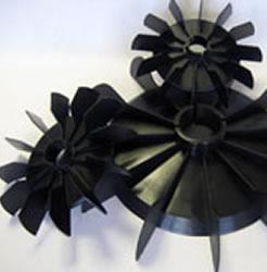 Low Profile Plastic Motor Fan