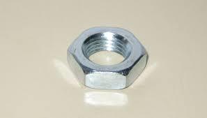 Metric Half Nuts zinc plated