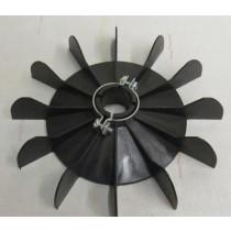 Electric Motor Cooling Fan Low Profile