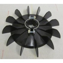 Low Profile Electric Motor Cooling Fan